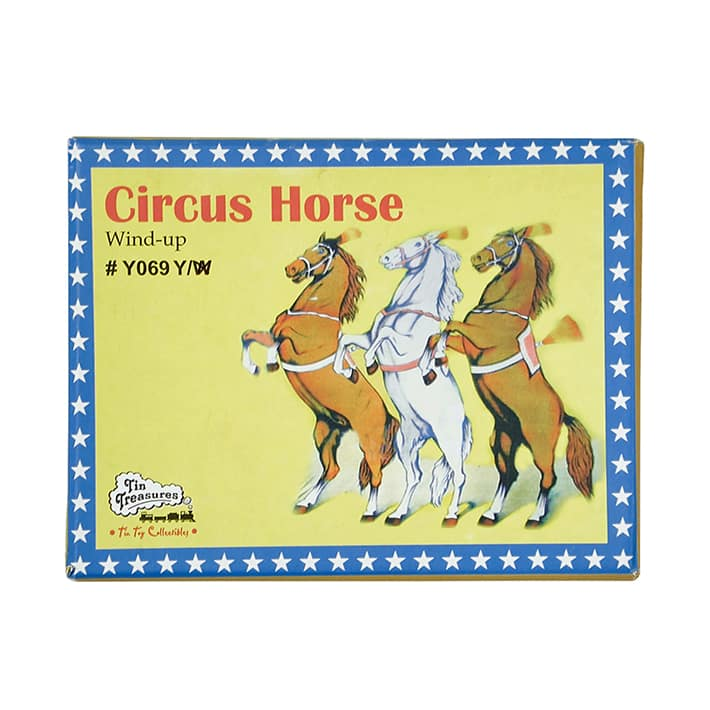 CLASSIC ORNAMENT(クラシック オーナメント) CIRCUS HORSE Y069W