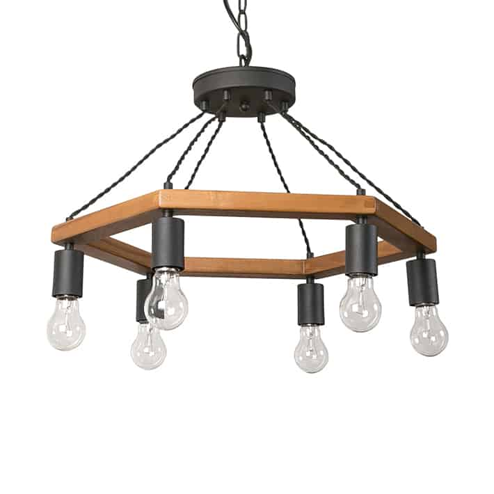 WOOD WORK LIGHT CEILING by 6BULB