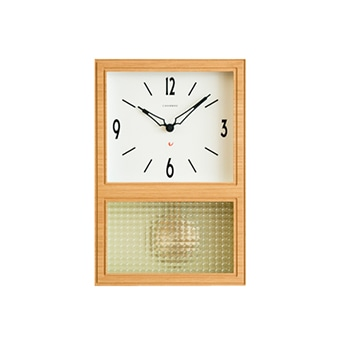 CHAMBRE GLASS PENDULUM CLOCK