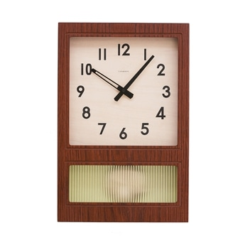 FROSTED PENDULUM CLOCK